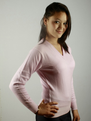 V NECK FULL SLEEVE SWEATER